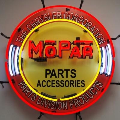 Mopar Parts Accessories Neon Sign