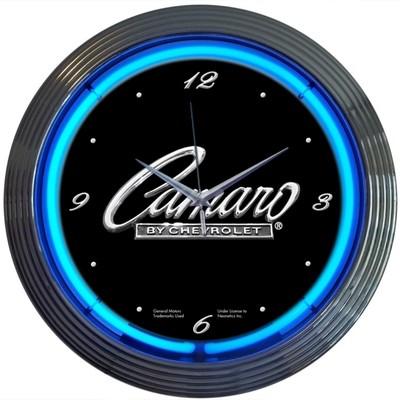 Chevrolet Chevy Camaro Neon Clock