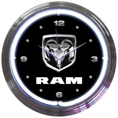 Dodge Ram Truck Neon Clock