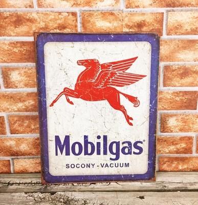 Mobilgas Pegasus Socony Gasoline Gas Oil