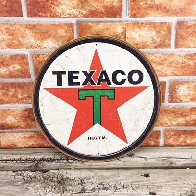 Texaco Star Gasoline Gas Oil