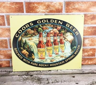 Coors Golden Beer Bottles