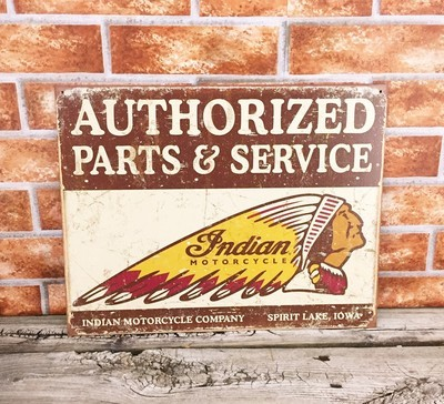 Indian Motorcycle Authorized Parts Chief