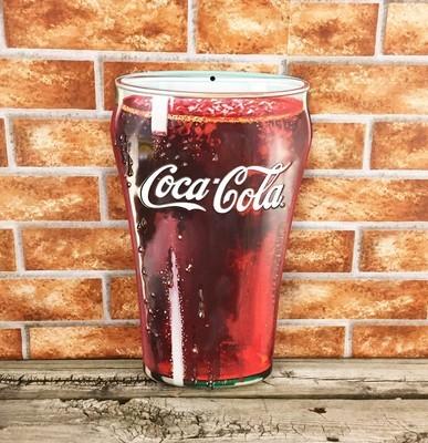 Coca-Cola Coke Tall 3D Glass