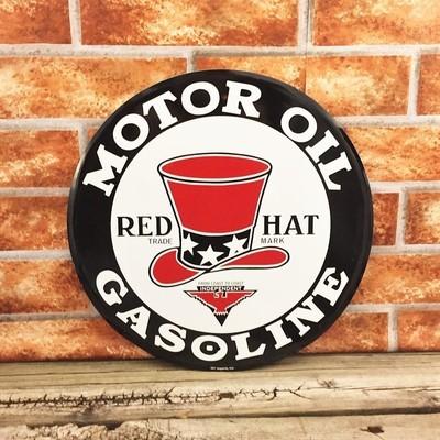 Red Hat Motor Oil Gasoline Gas
