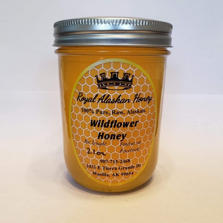 1 Pint Wildflower Honey