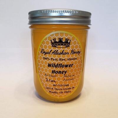 1 Pint Wildflower Honey
