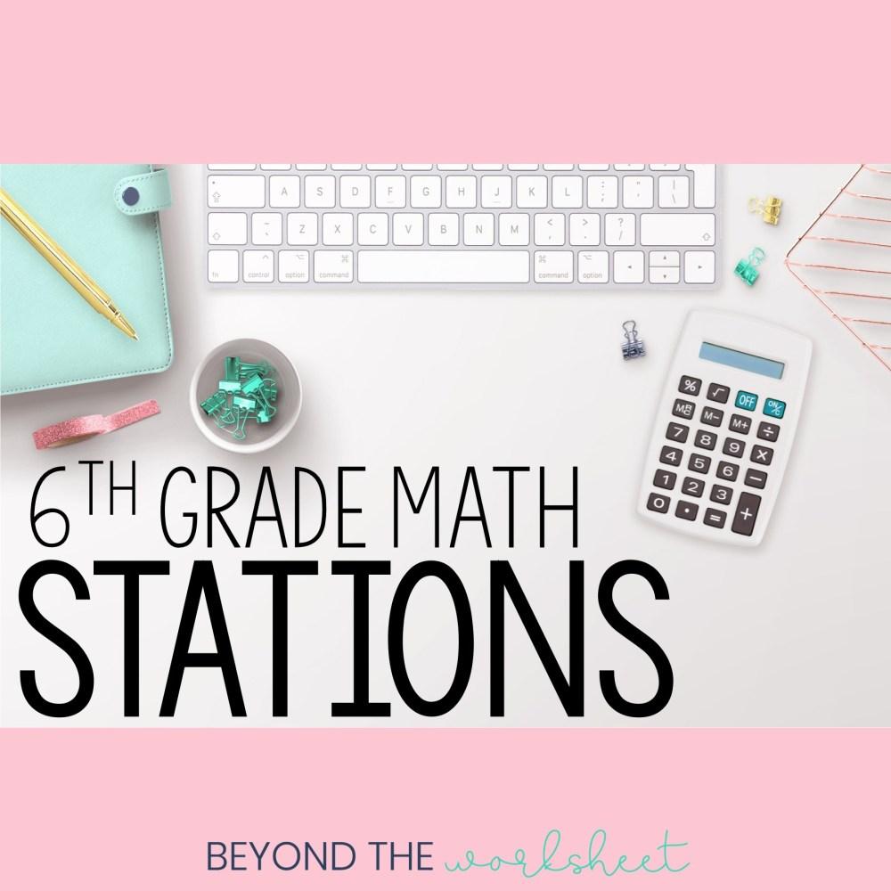 medium resolution of 6th Grade Math   Store - Lindsay Perro