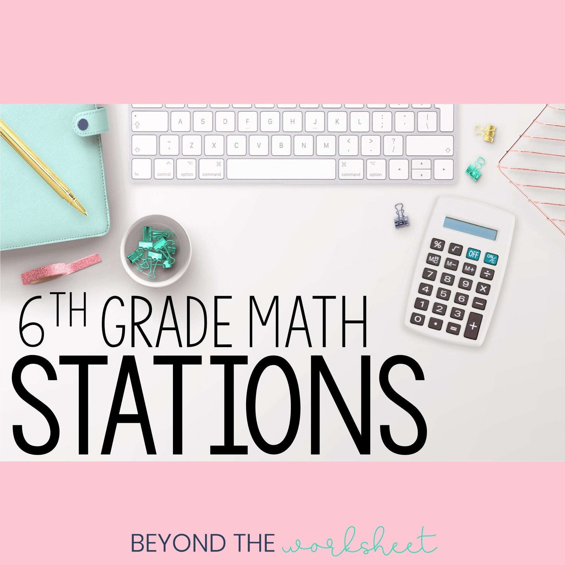 hight resolution of 6th Grade Math   Store - Lindsay Perro