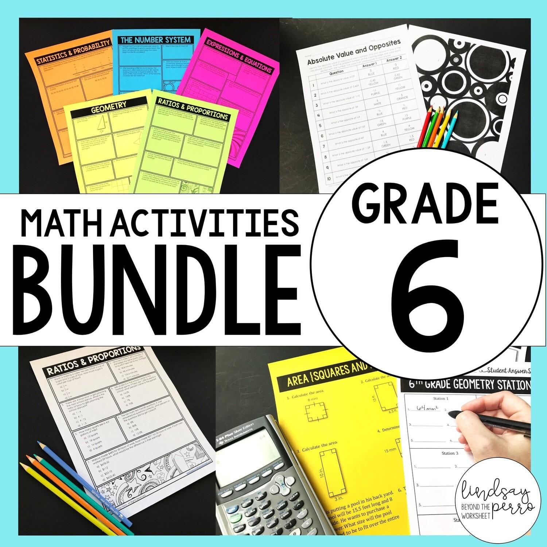 6th Grade Curriculum Resources: Supplemental Activities [ 1200 x 1200 Pixel ]
