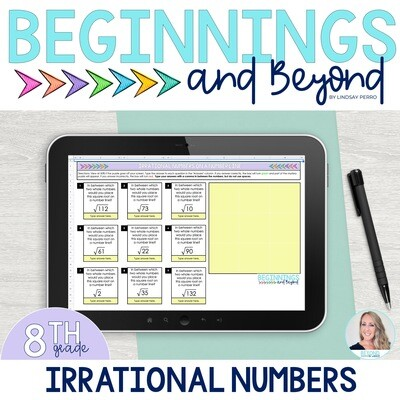 Irrational Numbers Digital Puzzle
