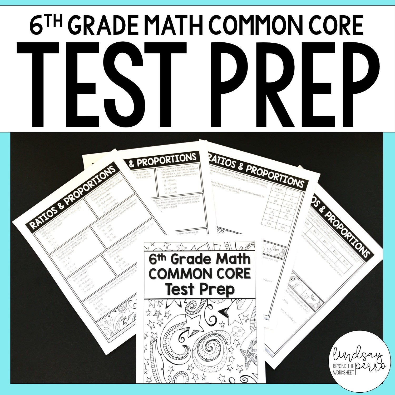 small resolution of 6th Grade Math Common Core Test Prep