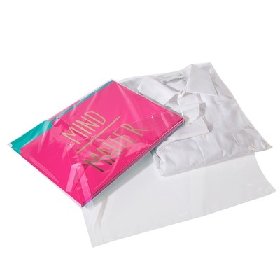 Crystal Clear Polypropylene Lip and Tape Bags 10