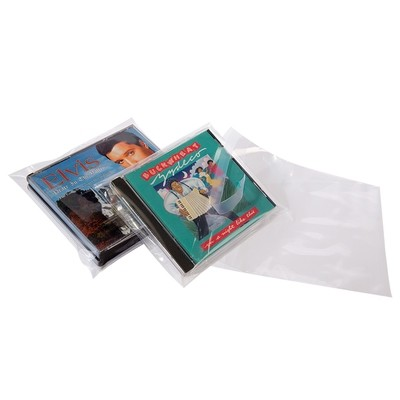 Crystal Clear Polypropylene Lip and Tape Bags 4.375