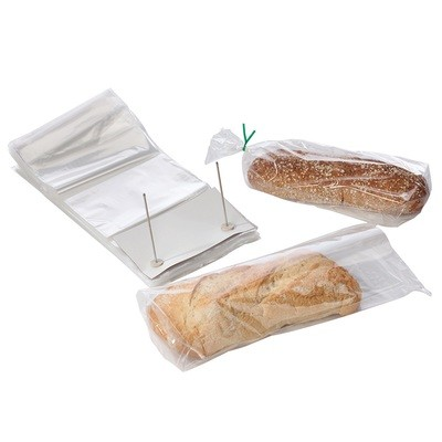 Wicketed Poly Bakery Bags with Bottom Gusset 10
