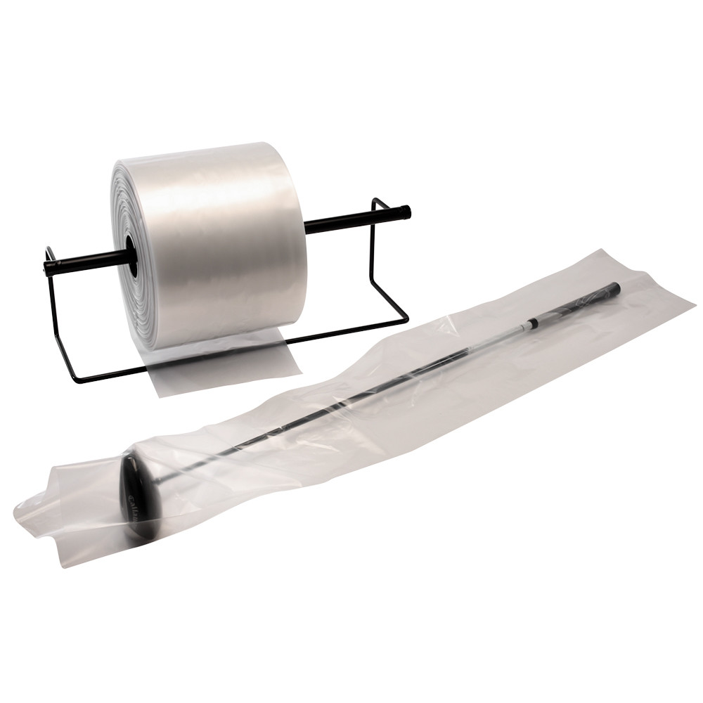 Clear Poly Tubing 2 mil 8