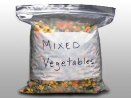 10 9/16 X 11 2.7 mils 1 Gallon Freezer Seal Top Bag with White Block