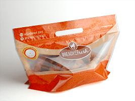 #READYFresh™ Medium Rotisserie Chicken Pouch 12 3/4 X 8 + 5 1/2 BG 2.6 mils