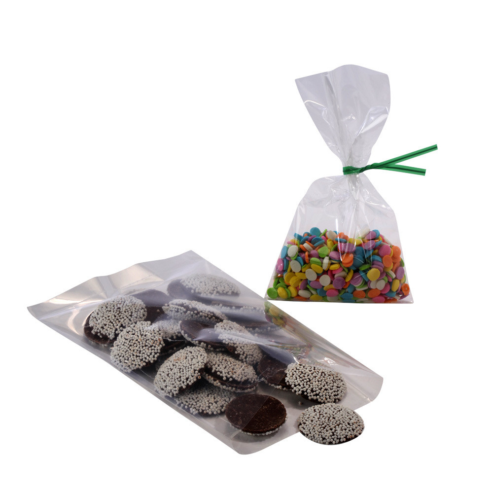 Crystal Clear Flat Polypropylene Bags 4