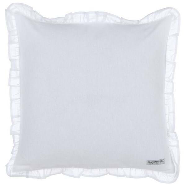 Sono i tessuti per cuscini. Blanc Mariclo Copricuscino Sedia