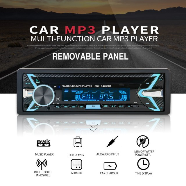 MP3 Radio Player with fm radio and bluetooth