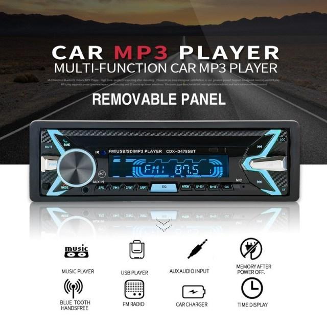MP3 Radio Player with fm radio and bluetooth