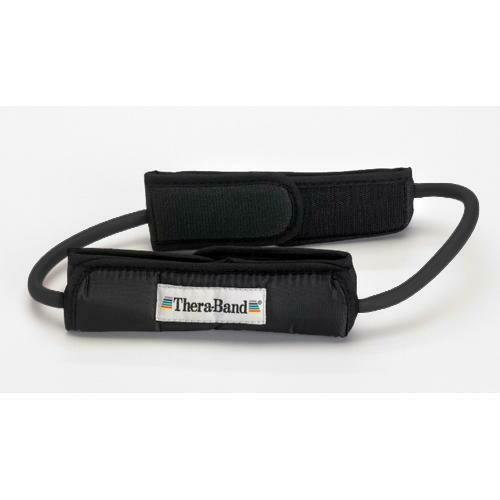 Black Theraband Tubing Loops