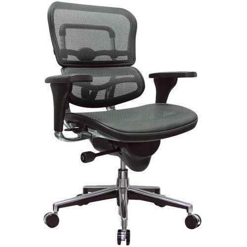 Grey Mesh Office Chair
