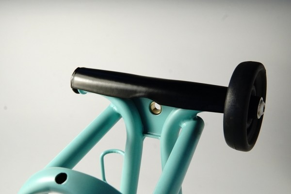 Eerder metaal Stabiliser bridge for Brompton rear frame support