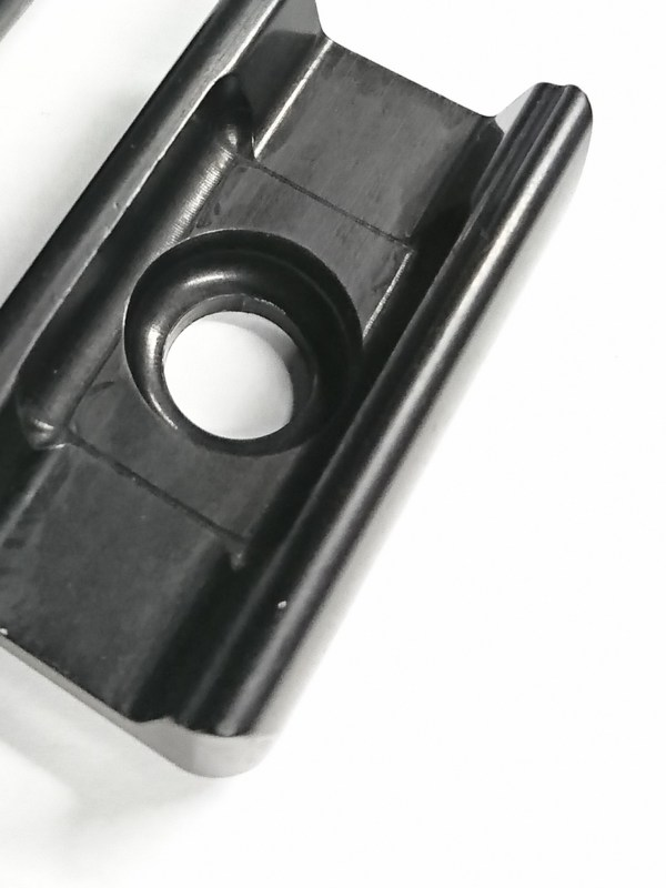 SpedDial clamp plate set black 2nd gen.
