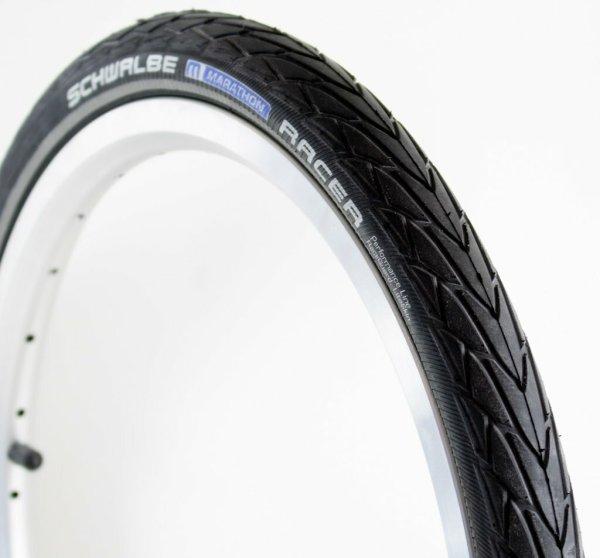 Schwalbe Marathon Racer Tyre 35-349 with reflective strip 9007004