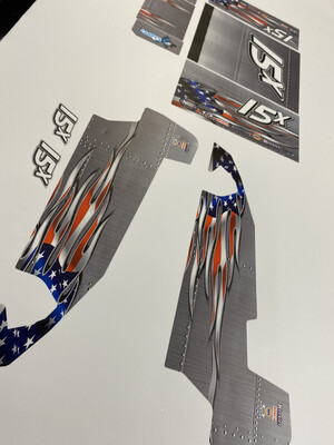SE1 Salvas Sprint Wraps (Designed to Order)