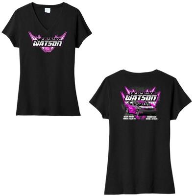2021 Tammy Watson Racing Ladies V-Neck