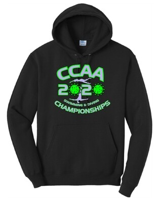 2020 CCAA Championship Swim Meet Hoodie