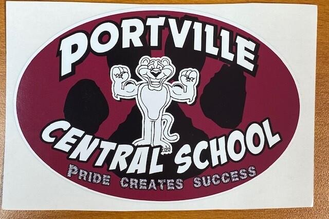 Portville Panthers Sticker