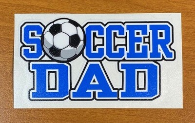 Soccer Dad Sticker