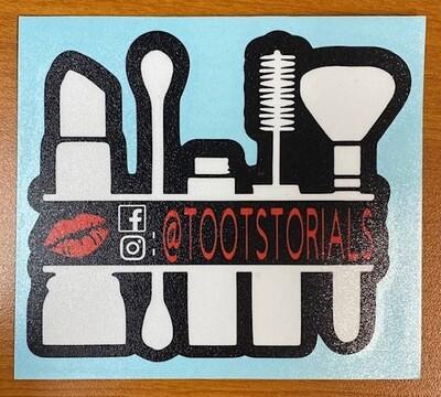 Tootstorials Sticker