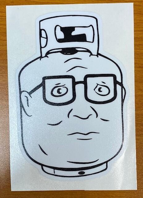 King of the Hill | Propane Hank Sticker