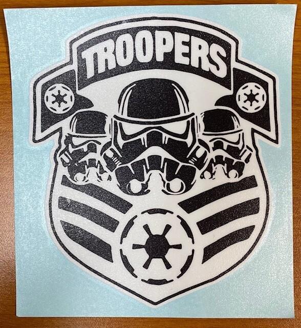 Storm Troopers Sticker