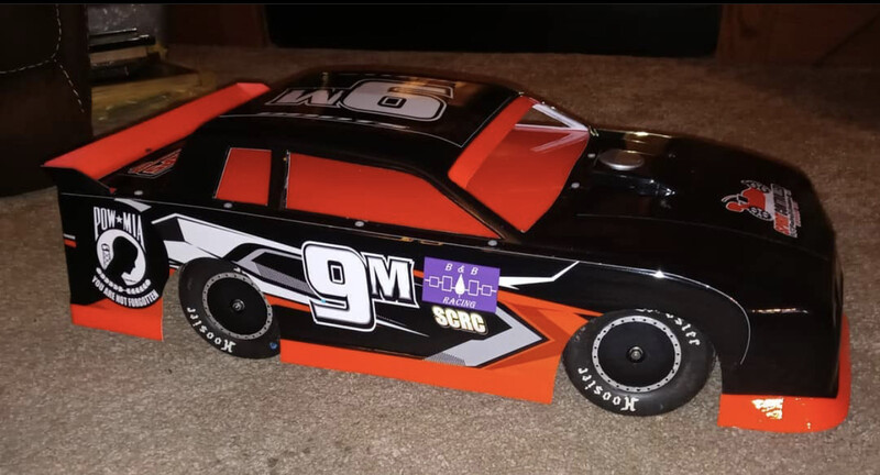 Shark Hitman Monte Carlo SC | Short Course Street Stock Wrap (Designed to Order)