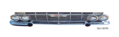 Chevy Station Wagon Alternative Headlight & Grille Set for MR Kustoms LoKal Wagon