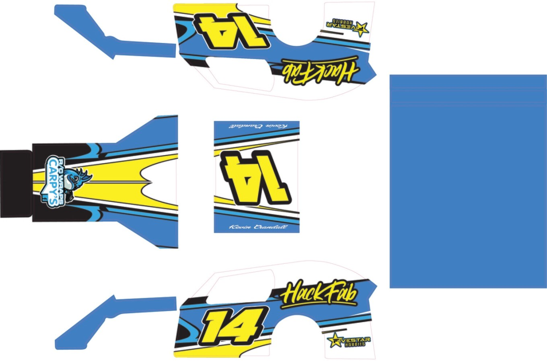 AFX HACKFAB MWM Wrap (Custom Designed to Order)