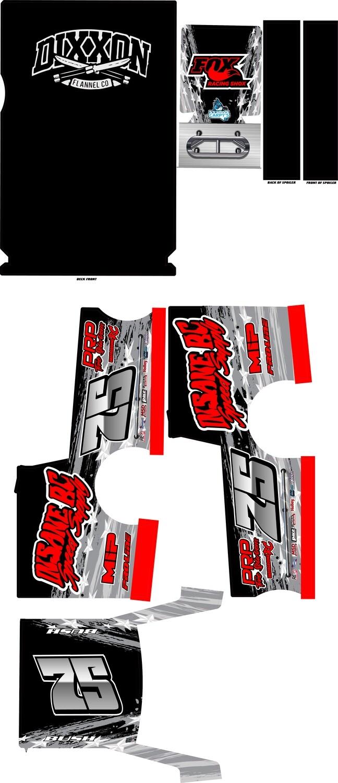 Outlaw Mudboss Wraps (Custom Designed to Order)