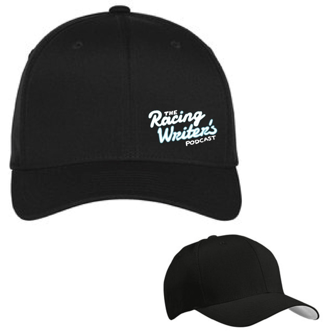 Racing Writer's Podcast Fitted Hat