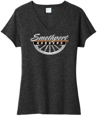 2021 Fall Smethport Staff Spirit Wear TriBlend Ladies VNeck