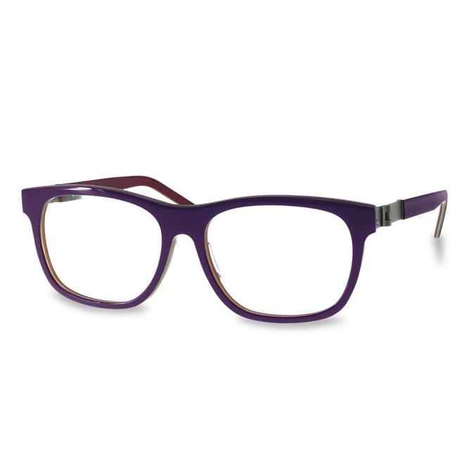Acetate FFA983  Purple-Red   (52-15-135 mm)  size M