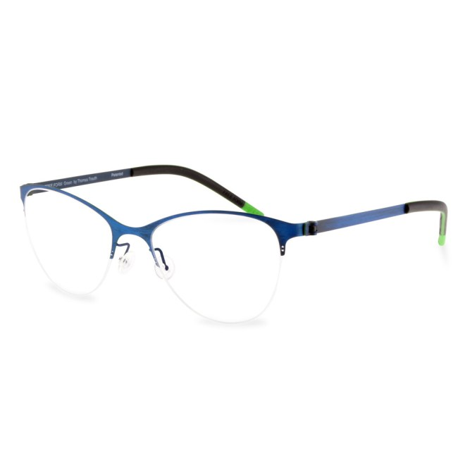 Green Semi Rim FFA 913 Blue Brush  (50-18-135 mm) size S