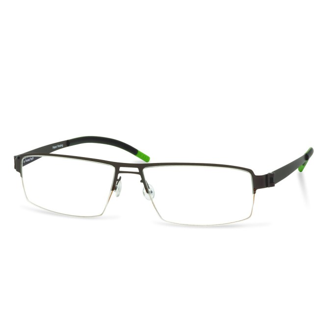 Green Semi Rim FFA 903 Brown   (56-17-145 mm)  size L