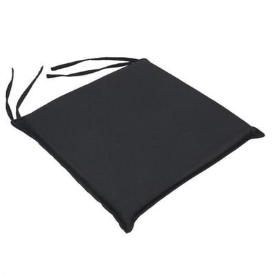Μαξιλάρι Καρέκλας Μονόχρωμο Σκούρο Γκρι - Be Comfy