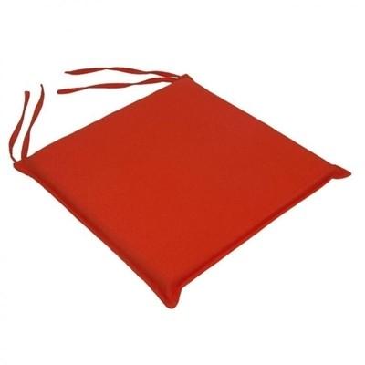 Μαξιλάρι Καρέκλας Μονόχρωμο Πορτοκαλί - Be Comfy